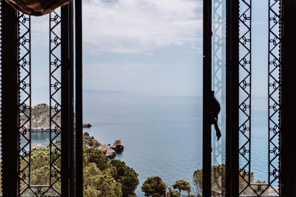 Coastal Wedding in Taormina, Sicily,