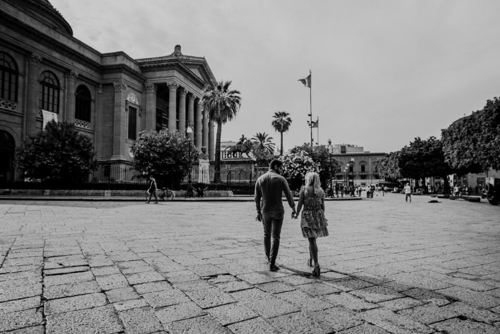 Teatro Massimo in Engagement in Palermo, Sicily