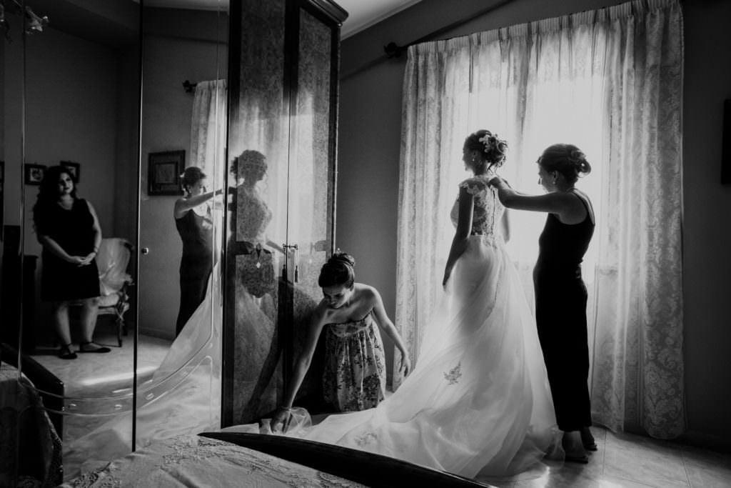 Preparazione Sposa Matrimonio Evangelico in Sicilia, Palermo