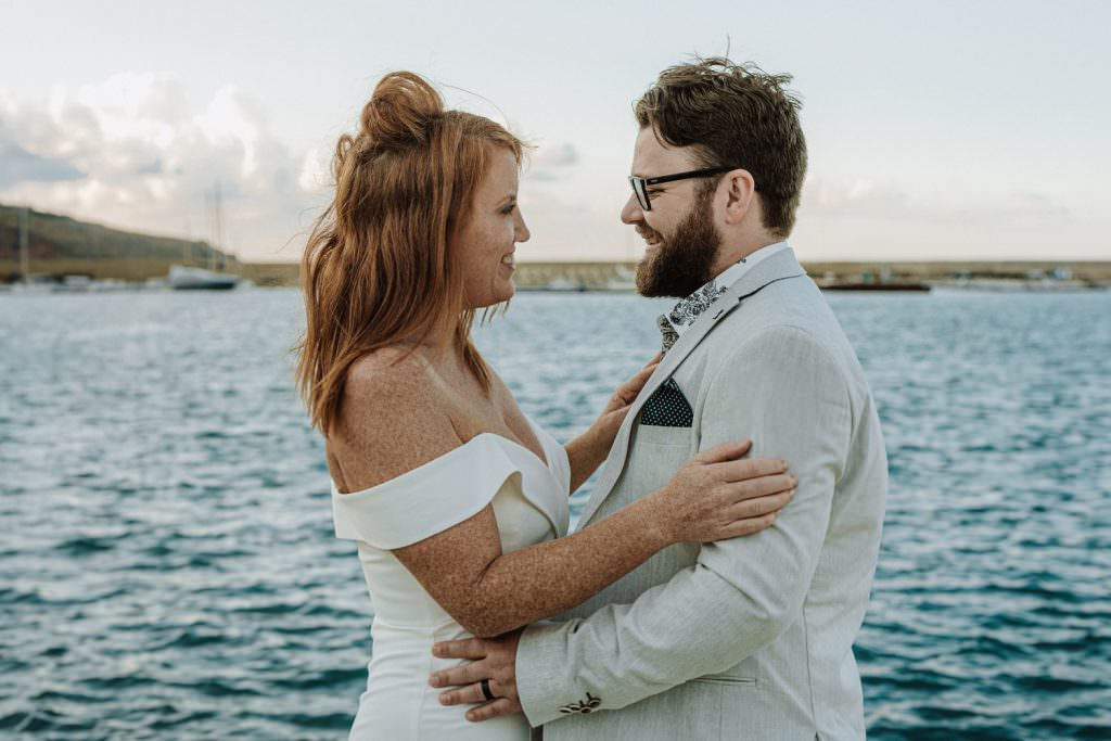honeymoon photography elegant portrait in Sicily hag