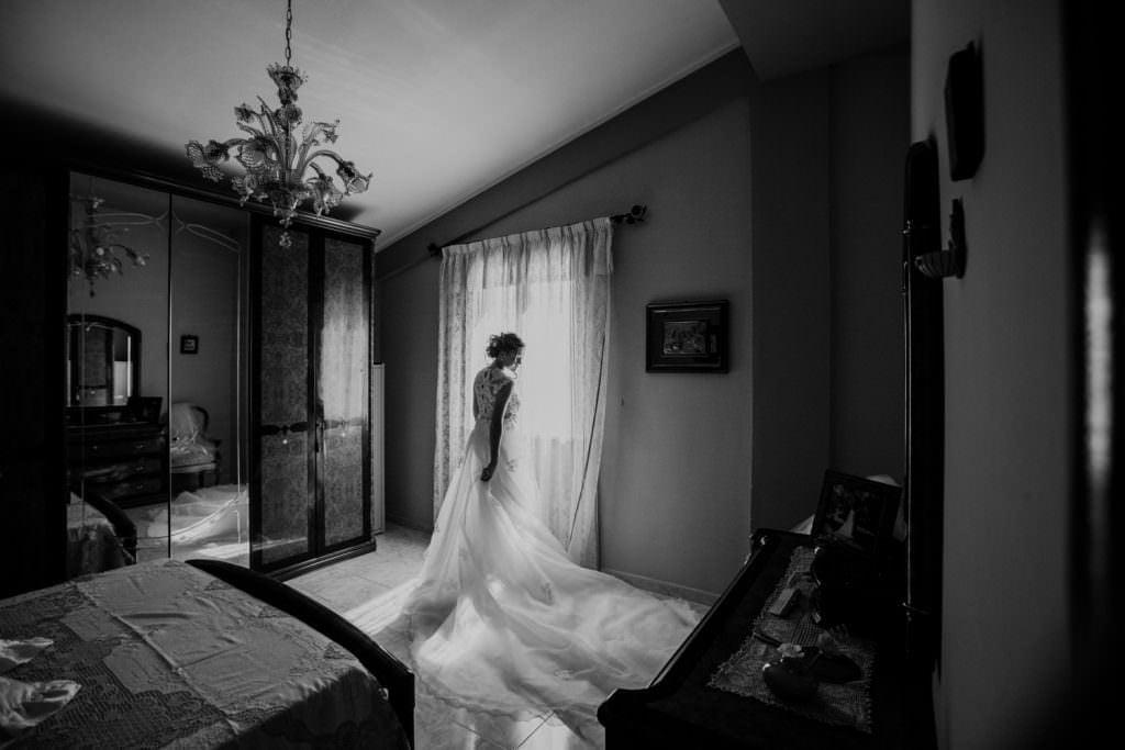 Ritratto Sposa Matrimonio Evangelico in Sicilia, Palermo