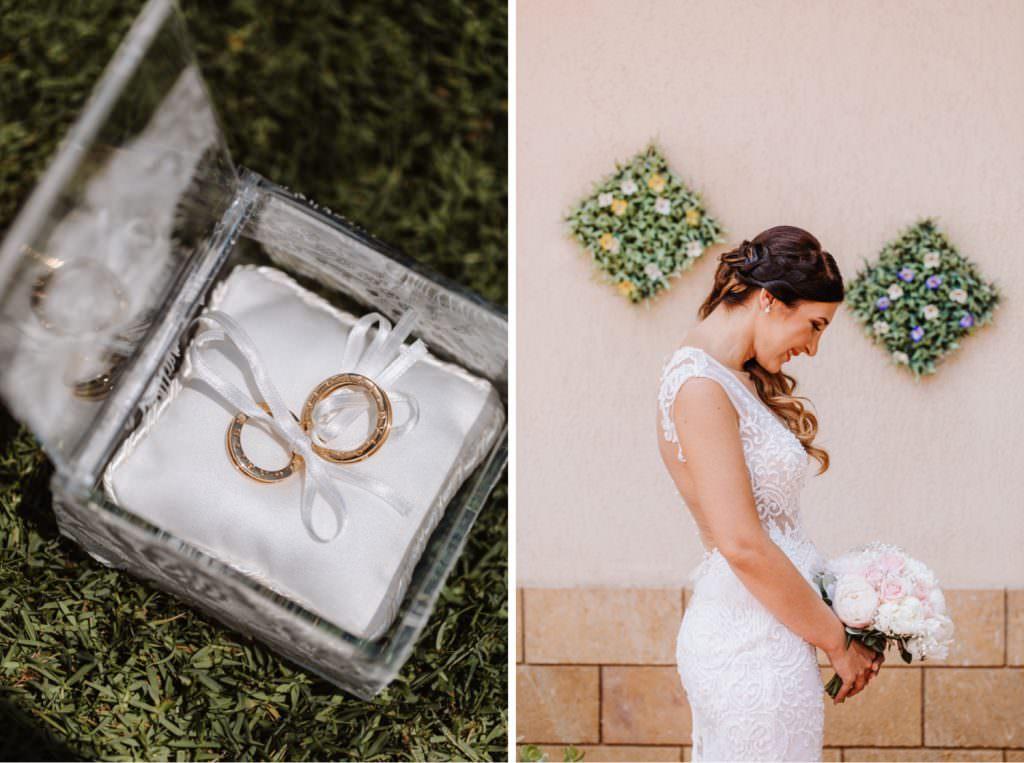 Seaside Wedding in Sicily portrait bride