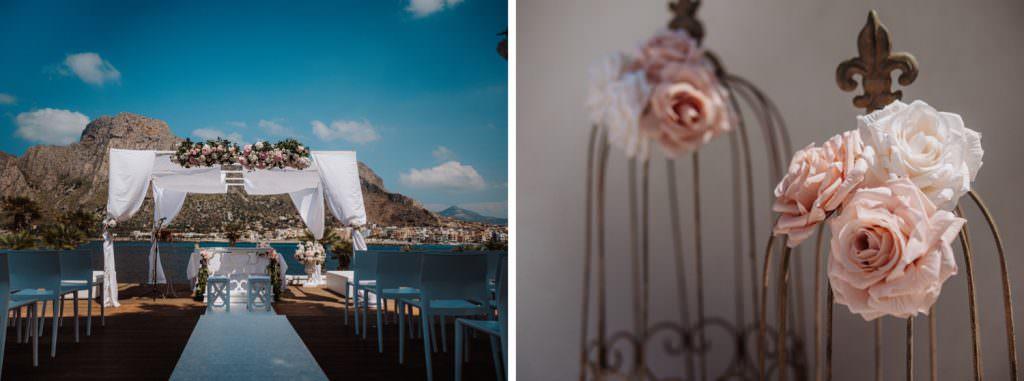 Seaside Wedding in Sicily preparation baia del corallo