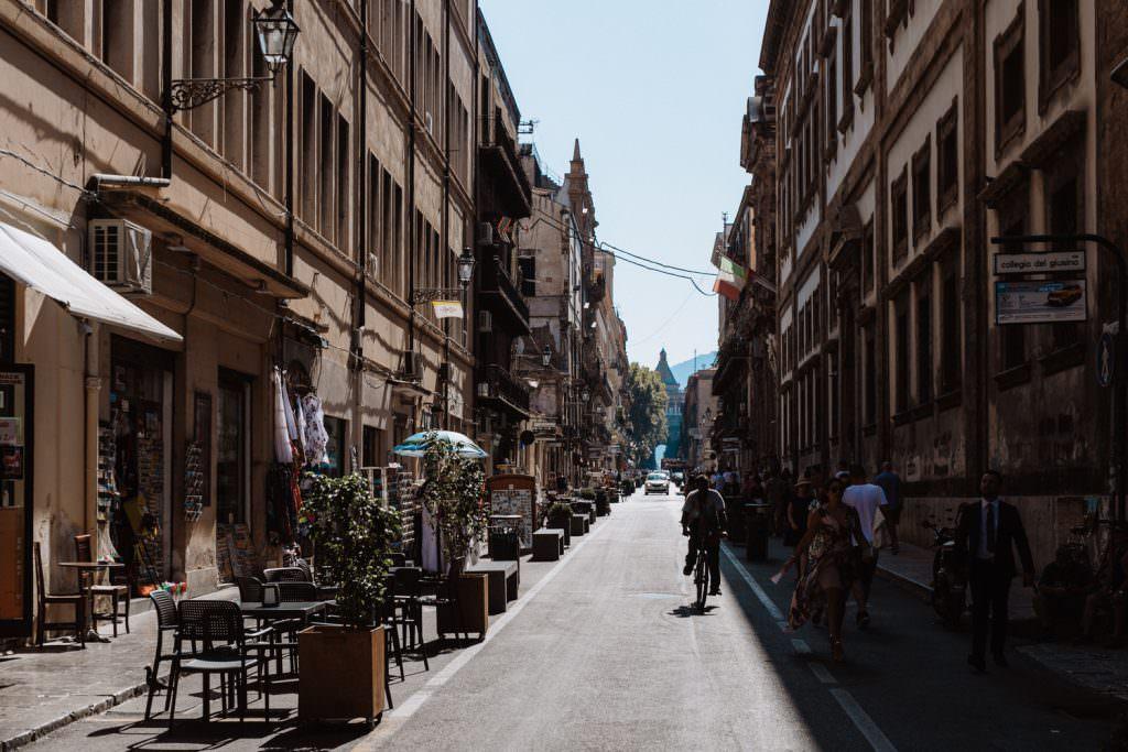 Matrimonio elegante a Palermo, centro