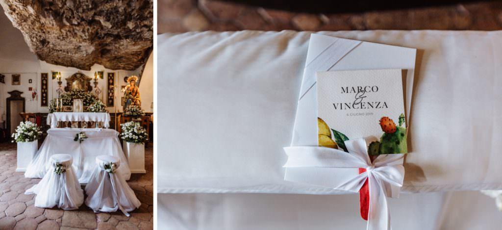 Coastal Wedding in Taormina, Sicily, church details