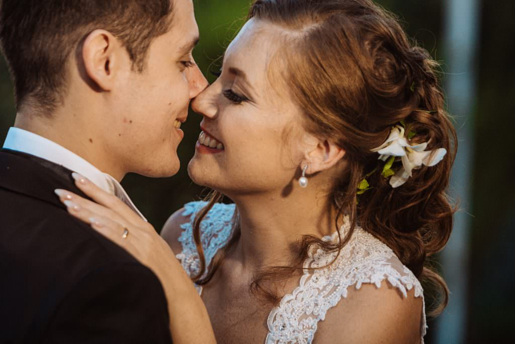Emotional Christian Wedding in Sicily Couple Portrait