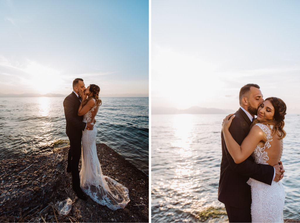 Seaside Wedding in Sicily baia del corallo portrait couple