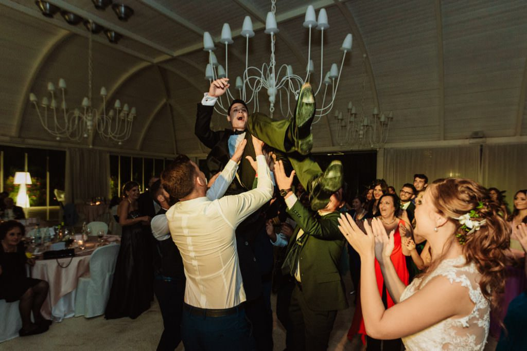 Party of a Christian Wedding in Sicily