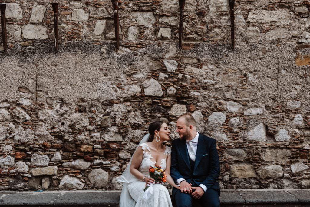 Coastal Wedding in Taormina, Sicily, bride and groom, couple portrait