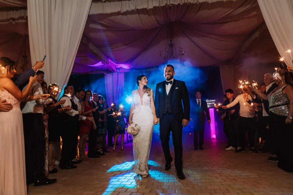 Seaside Wedding in Sicily baia del corallo party