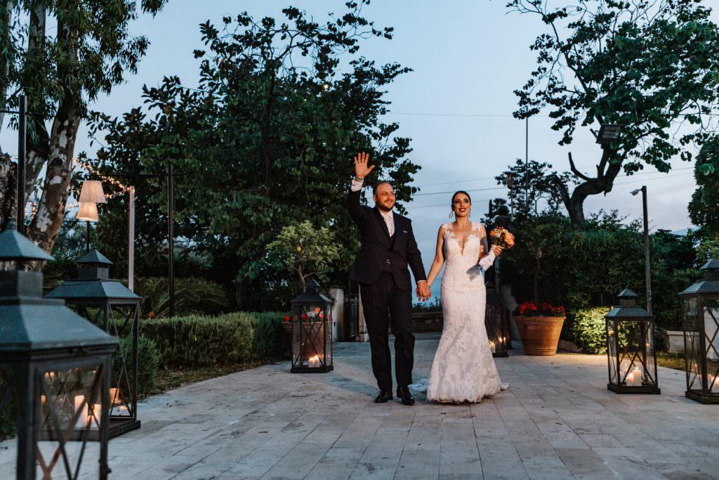 Ricevimento in Matrimonio nella costa di Taormina, Sicilia