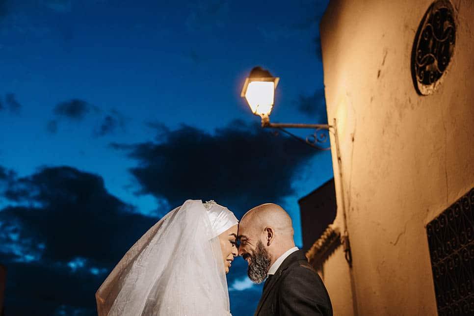 couple portrait Tunis wedding photography
