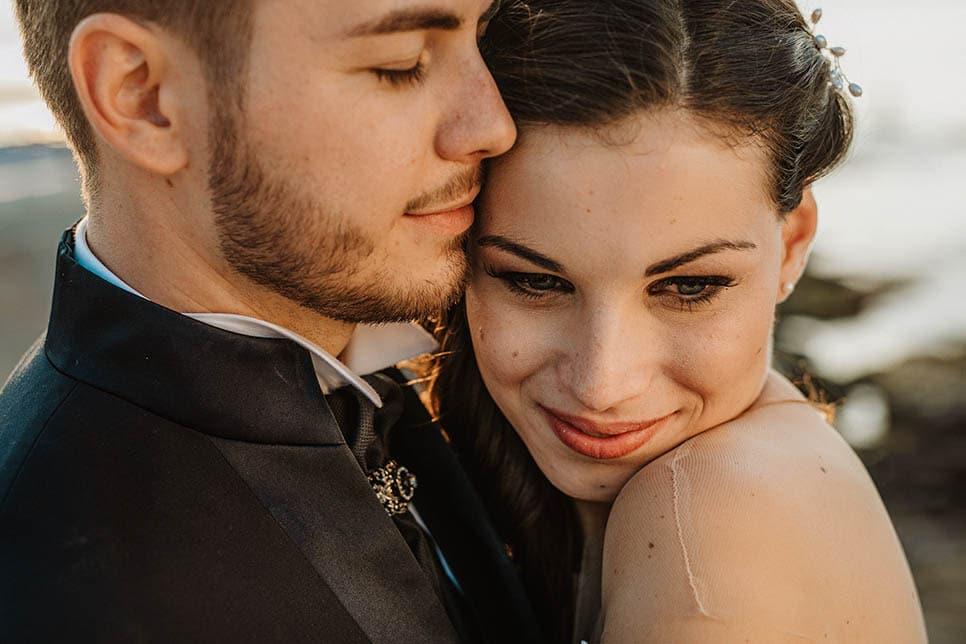 couple portrait Sicily wedding photography