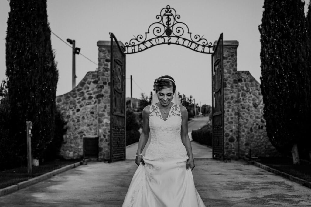 Bride portrait in Evangelical Christian Wedding