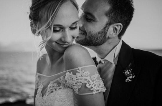 Couple Portrait in elegant destination wedding in sicily