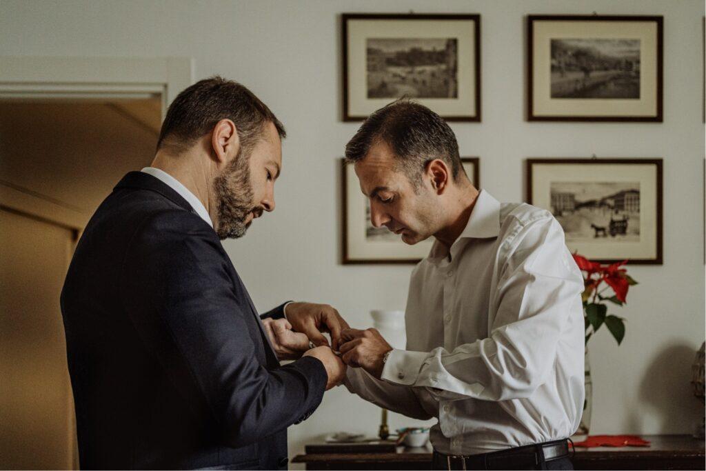 wedding reportage image