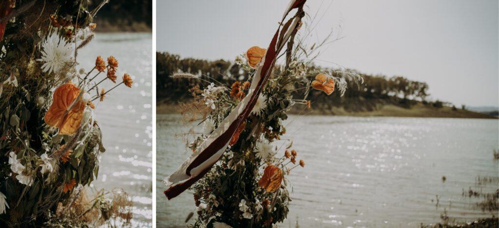 Floreal Composition wedding lake sicily
